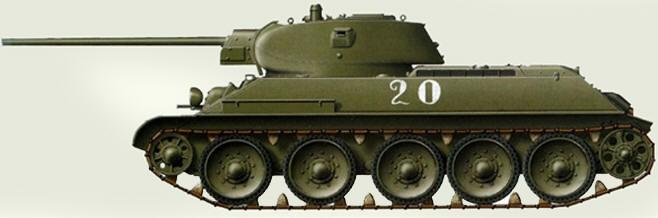 Танк истребитель T34-57