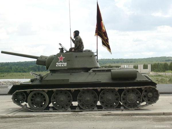 Фото танка т 34