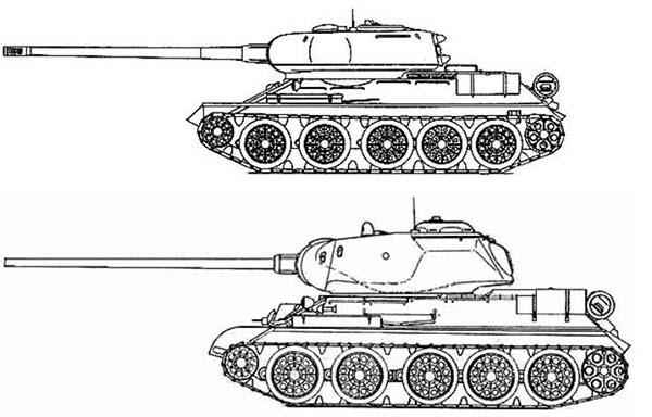 Конструкция Т 34 100