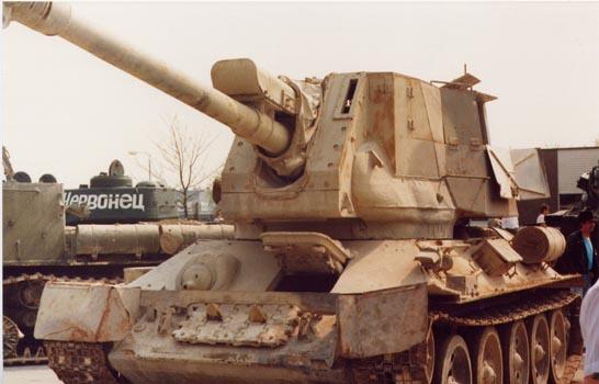 Танк т 34 122