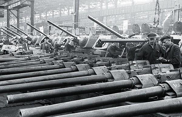 Производство Т34-76