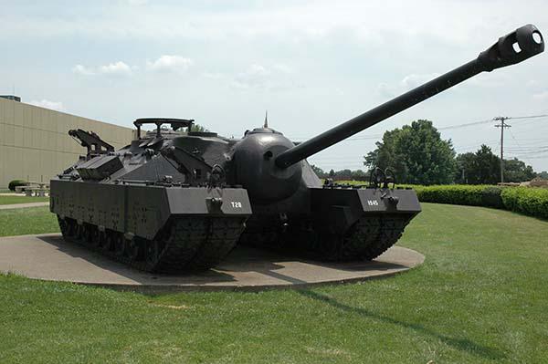 Американский тяжелый Т 34