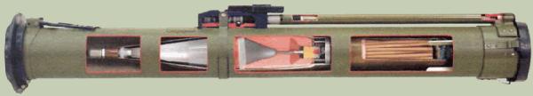РПГ 26 в разрезе