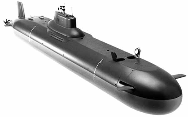 Подводная лодка Акула рисунок