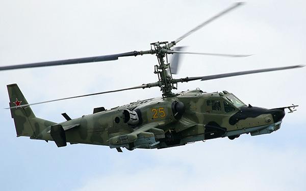 Вертолет Ка-50