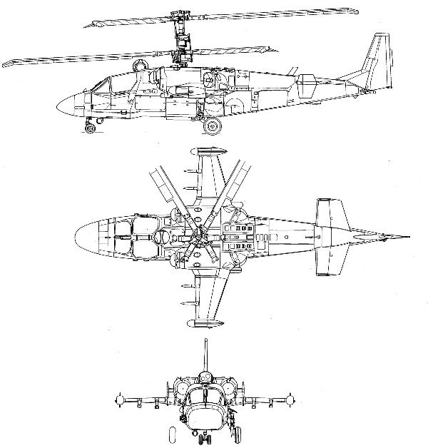 Чертежи Ка-52