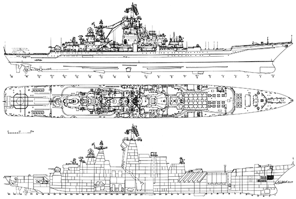 Схема крейсера