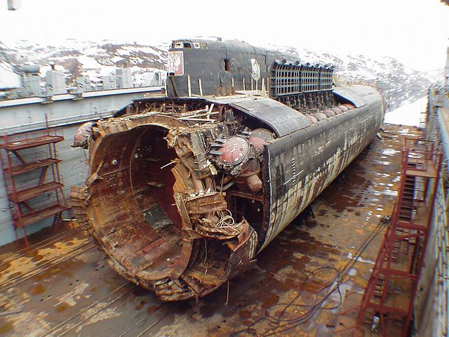 Катастрофа на подводной лодке