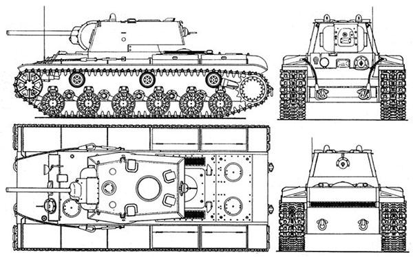 КВ-1, а также КВ-2 (танк с