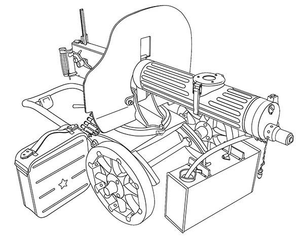модернизацию пулемета,