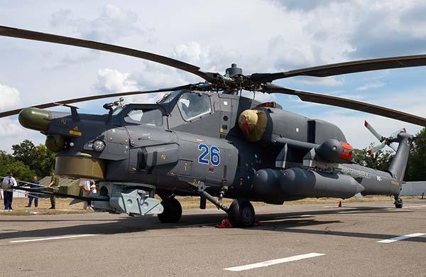 Российский вертолет МИ-28