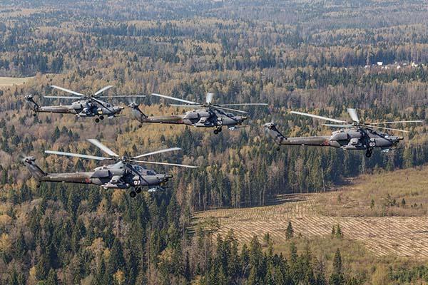 Боевые вертолеты Ми-28