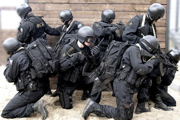 Форма спецназа ФСБ