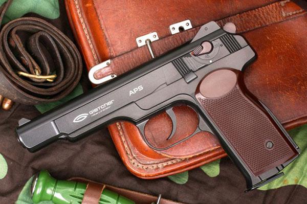 Достоинства пистолета