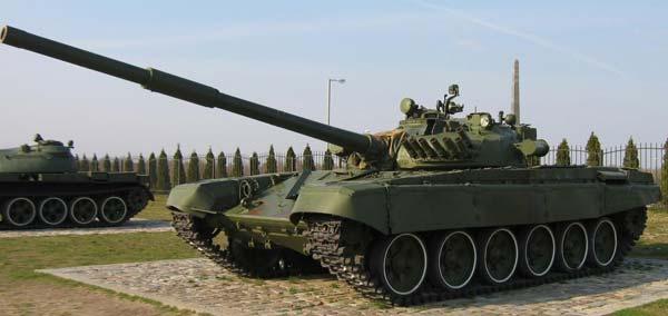 Российский танк Т 72