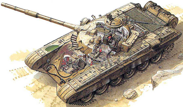 Танк Т72