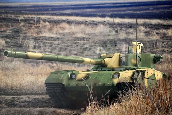 Новые танки России