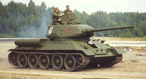 Танк Т-34 85 средний, история создания, устройство и ...