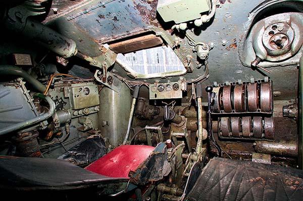 Внутри танка