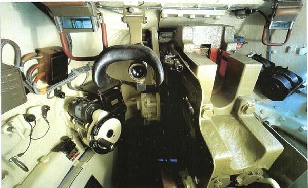 Вид внутри Т 34