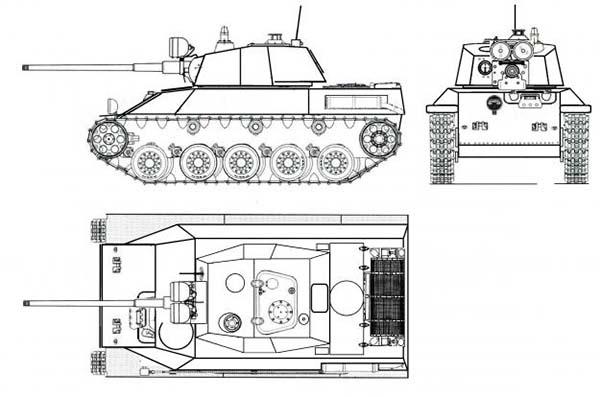 Эскиз Т34М