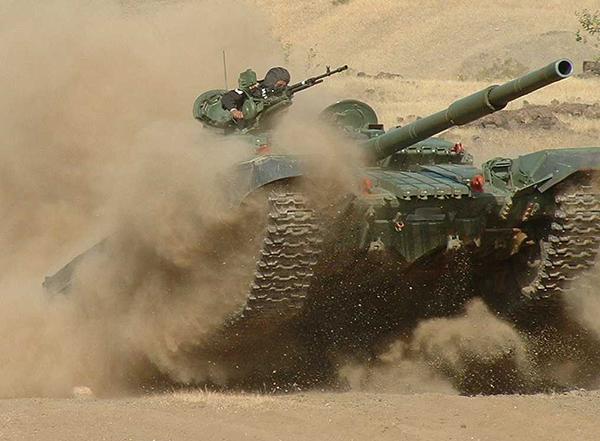 Вооружение Т 72