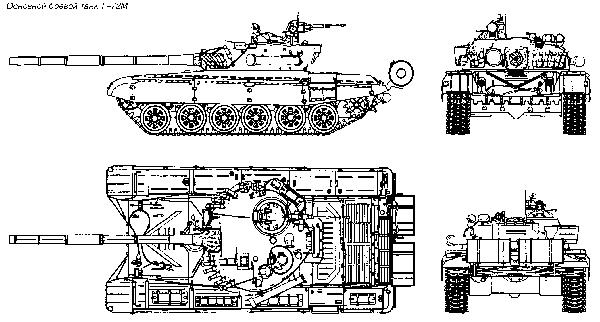 Схема Т 72