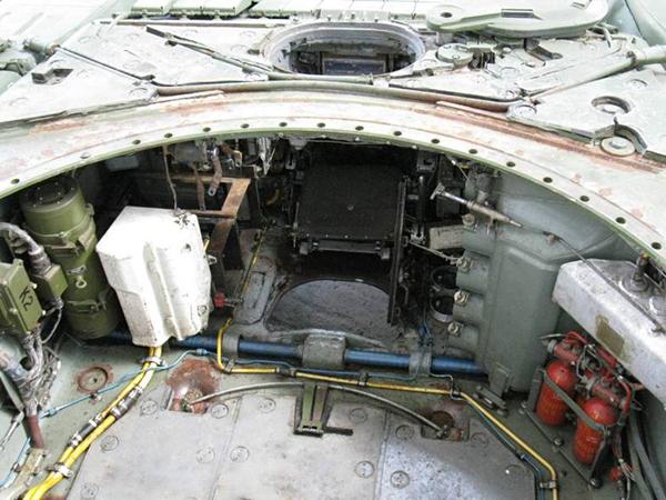 Т 72 внутри