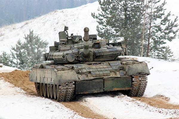 Фото танка Т80