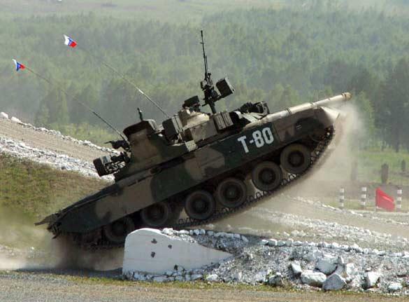 Легкий танк Т80