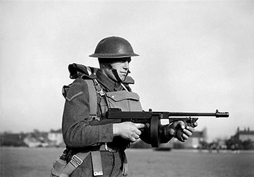 автомат Томпсона во Второй Мировой