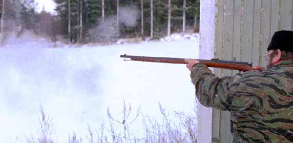 Стрельба из винтовки Бердана
