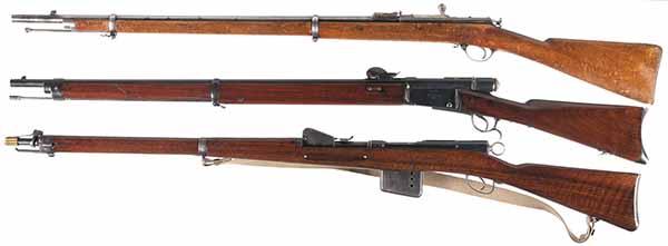 Модификации винтовки Бердана