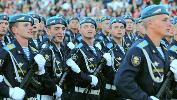 Парадная форма одежды военнослужащих 2016 ввс