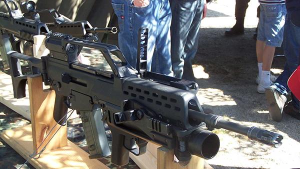 винтовка hk g36