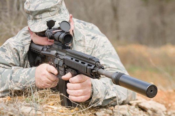 Винтовка HK416