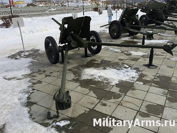 Фото пушки 45-мм