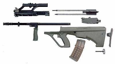 винтовка steyr aug