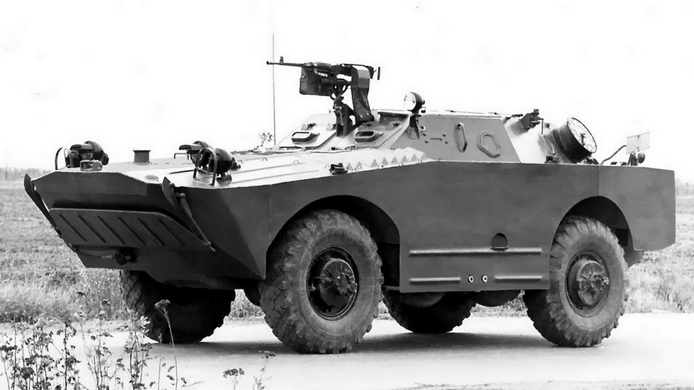 Бронированная разведывательно-дозорная машина БРДМ-1