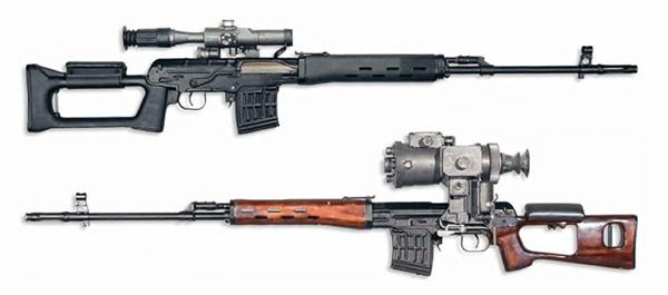 Винтовка Драгунова снайперская