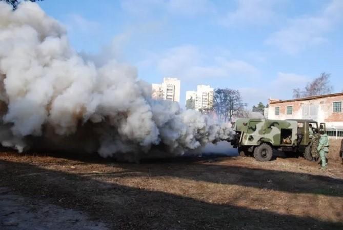 Дымовая машина ТДА-М