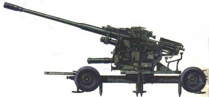 100-мм зенитная пушка КС-19