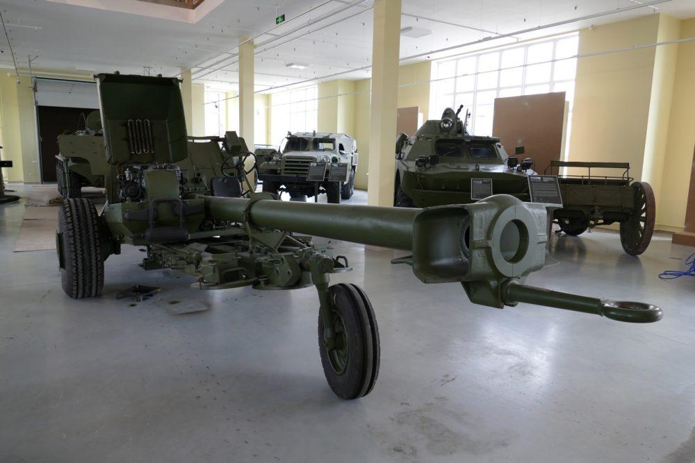 Советская 125-мм противотанковая самодвижущаяся пушка 2А45М