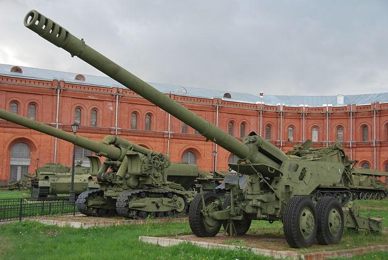 Советская 152-мм пушка 2А36