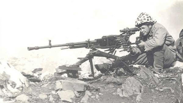 История пулемета Утес