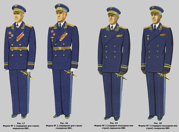Форма ВВС СССР