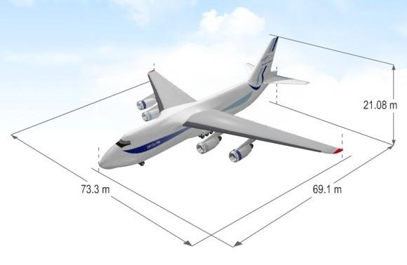 """Украинский самолет АН-124 """"Руслан"""" доставил детали ракеты для SpaceX во Флориду - Цензор.НЕТ 3892"""
