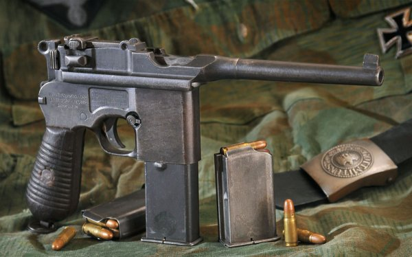 Пистолет Маузер, модель М 712,