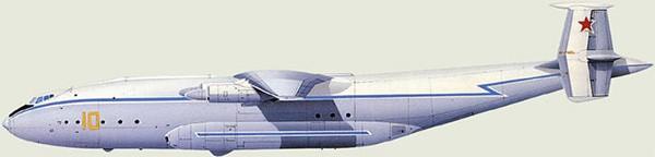Конструкция Ан-22 Антей