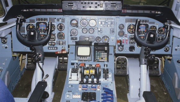 Кабина Ан-74